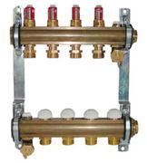 Коллектор Herz для теплого пола с расходомером 11-ходовой