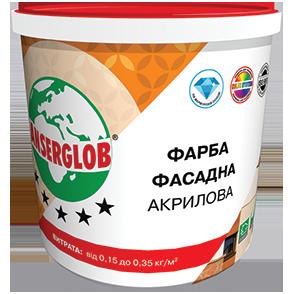 Anserglob Краска фасадная акриловая 1,4кг. цены
