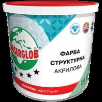 Anserglob Структурная акриловая краска 15кг.