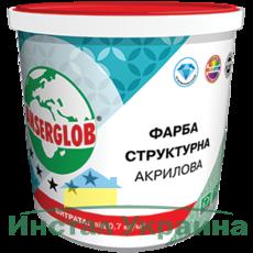 Anserglob Структурная акриловая краска 7,5кг.
