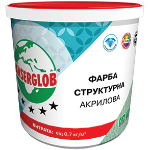 Anserglob Структурная акриловая краска 15кг. цены