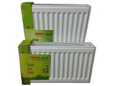 Радиатор Terra teknik 22VK 500x1000 / нижнее подключение цена