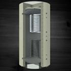 купить Теплоаккумулирующая емкость KRONAS с двумя спиральными теплообменниками 500 (с теплоизоляцией)