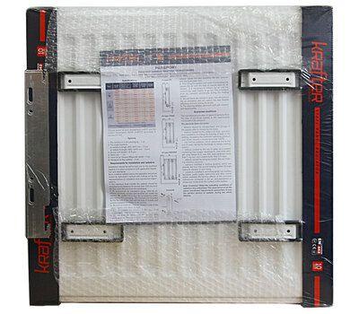 Радиатор стальной панельный нижнее подключение Krafter VC22 500x1000 цена