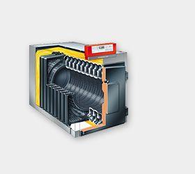 Газовый котел Viessmann Vitorond 200 195 кВт с Vitotronic 200 (с жидкотопливной горелкой, отдельный сегмент)
