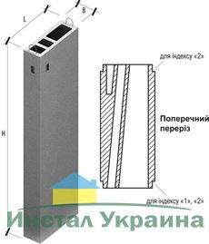 Вентиляционный блок ВБ 33-1 (до 10 этажей)