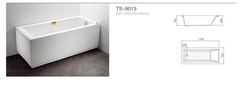 Акриловая ванна Appollo TS-9013 1700 x 750 x 450