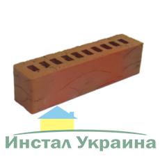 Клинкерный кирпич половинка Керамейя Рустика Топаз 3