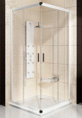 Душевой уголок Blix BLRV2K-110 белый+transparent цены
