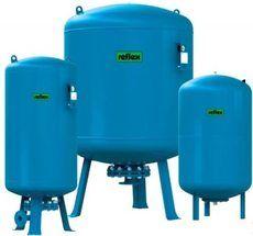 Гидроаккумулятор вертикальный Reflex Refix DC 7309900 140L DC (синий) 10 бар (мембрана не сменная)