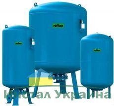 Гидроаккумулятор вертикальный Reflex Refix DC 7363800 500L DC (синий) 10 бар (мембрана не сменная)