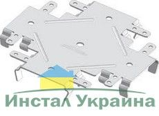 Крестообразный кронштейн одноуровневый (КРАБ), для соединения СД профилей между собой при одноуровневом потолке