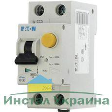 Eaton Дифференциальный автоматический выключатель PFL6-10/1N/C/0,03 (286465)