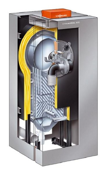 Газовый котел Viessmann Vitocrossal 300 87 кВт с Vitotronic 200