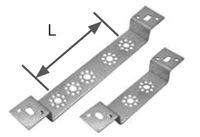 KAN Плитка монтажная с выступом двойная (L=50мм) 6090.10
