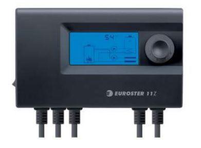 Euroster 11Z Термоконтр. управл.насосом ЦО или бака-акк.ГВС, система Антистоп, ЖК экран, 2 датчика темп.  цена