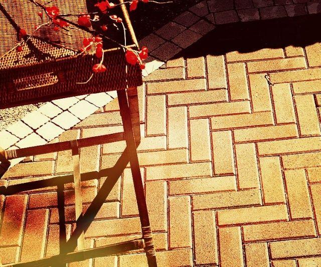 Тротуарная плитка Кирпич Узкий (желтый) 210х70 (6 см)