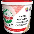 купить Anserglob Краска структурная силиконовая GAZOBETON 14кг.