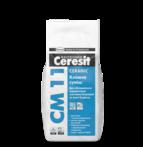 купить Ceresit СМ 11 Клеящая смесь для плитки Ceramic (5 кг.)