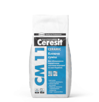 Ceresit СМ 11 Клеящая смесь для плитки Ceramic (5 кг.)