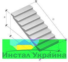 Лестничный марш 1ЛМ 30.12.15-4 Л
