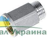 197 Удлинитель НИКЕЛЬ 1/2х30мм Valtec