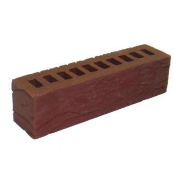 Клинкерный кирпич половинка Керамейя Рустика Рубин 13 цена