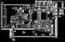 Коллектор в сборе (без насоса) для подключения системы теплый пол FADO (SEN06)