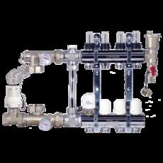 Коллектор в сборе (без насоса) для подключения системы теплый пол FADO (SEN11)