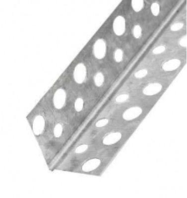Уголок перфорированный алюминиевый Премиум/ 0,4мм цена