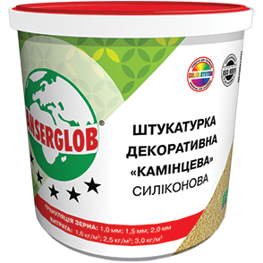 Anserglob Силиконовая камешковая декоративная штукатурка зерно 1 мм. цена