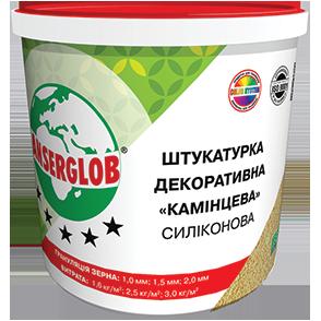 Anserglob Силиконовая камешковая декоративная штукатурка зерно 1 мм.