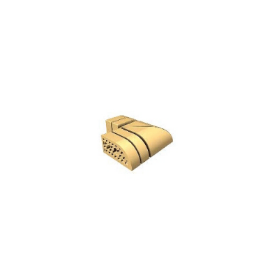 Кирпич облицовочный СБК ВФК-3 желтый