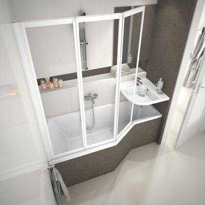 Акриловая ванна Ravak BeHappy 150 x 75 R правосторонняя цена