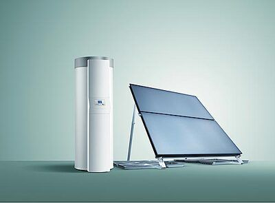 Сонячний колектор auroTHERM VFK 145 H (4шт) + бойлер auroSTOR VIH S 500 + auroMATIC 620/3 цена