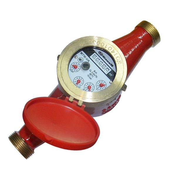 Счётчик водяной GROSS MTK(W)-UA 20 без сгонов (для горячей воды)