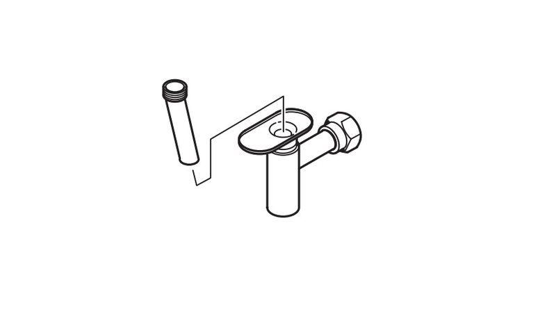 Buderus Воронкообразный сливной сифон для отвода конденсата (7719000763)