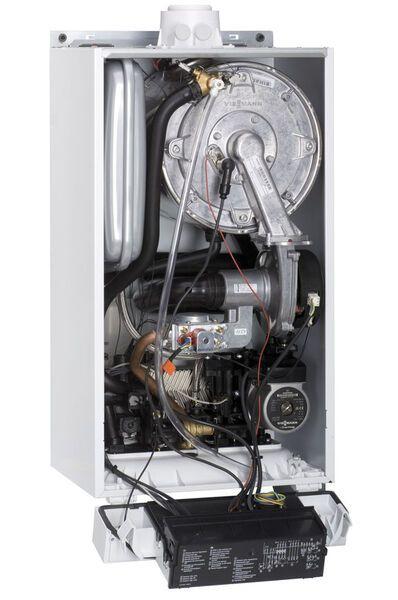 Газовый котел Viessmann Vitodens 100-W 35 кВт B1HC043, одноконтурный
