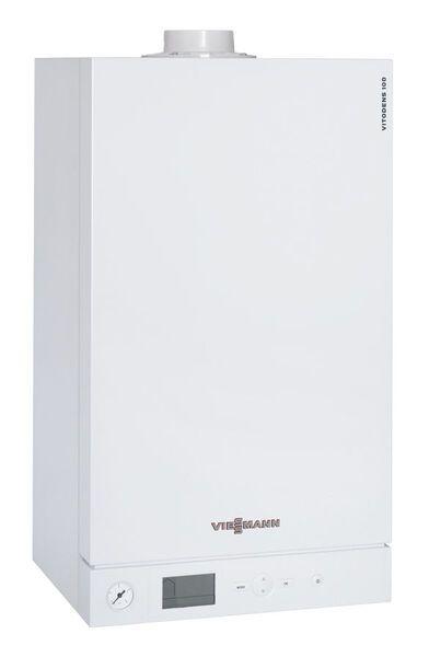 Газовый котел Viessmann Vitodens 100-W 35 кВт B1KC033, Двухконтурный
