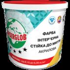 купить Anserglob Краска интерьерная акриловая стойкая к мытью 4,2кг.