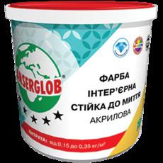 Anserglob Краска интерьерная акриловая стойкая к мытью 4,2кг.