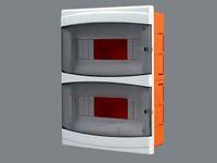 Щиток пластиковый на 16 модулей с дверцей (внутренний) BR 815