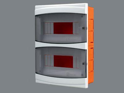 Щиток пластиковый на 16 модулей с дверцей (внутренний) BR 815 цена