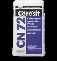 Ceresit СN 72 Самовыравнивающаяся смесь 2-10мм