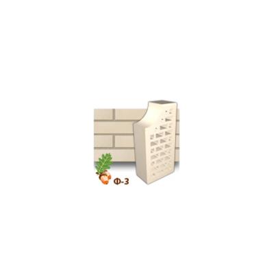 Клинкерный кирпич фасонный Ф3 Керамейя Жемчуг
