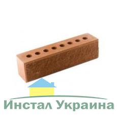 Кирпич Литос узкий колотый тычковой с фаской терракот