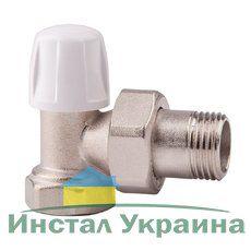 805 Угловой нижний вентиль ICMA с американкой, угловой ВН 3/4''