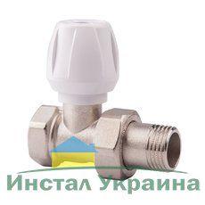 813 Ручной вентиль простой регулировки ICMA с американкой, прямой ВН 3/4''