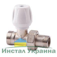 814 Ручной вентиль простой регулировки ICMA с американкой, прямой ВН 1/2 - 24х1,5