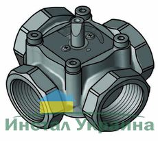 """4-ходовой смесительный клапан Meibes Elomix ЕМ4-25-12 Ду25 (Kvs 12 м.куб./час), подключение 1 """"ВР"""